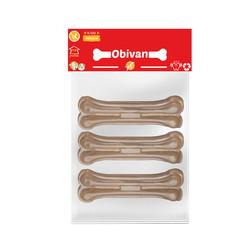 Obivan - Obivan Naturel Kemik Köpek Ödülü 12 CM 3 Lü