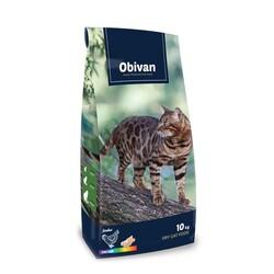 Obivan - Obivan Rainbow Renkli Taneli Tavuklu Kedi Maması 10 KG
