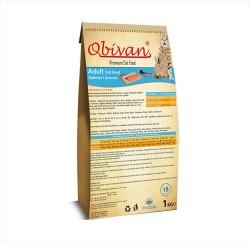 Obivan - Obivan Somonlu Kedi Maması 1 KG