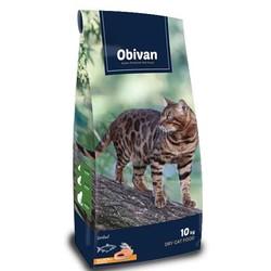Obivan Somonlu ve Hamsili Kısırlaştırılmış Kedi Maması 10 KG - Thumbnail