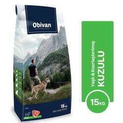 Obivan - Obivan Yaşlı & Kuzulu Köpek Maması 15 KG