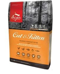 Orijen - Orijen Cat & Kitten Tahılsız Yavru ve Yetişkin Kedi Maması 17 KG
