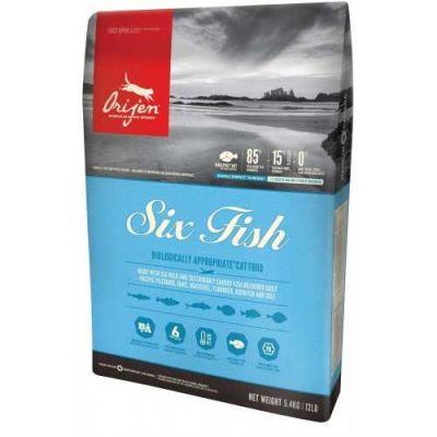 Orijen Six Fish Balıklı Kedi Maması 5.4 KG