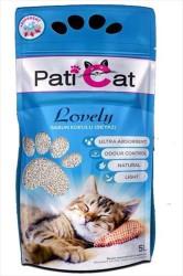 Pati Cat - Pati Cat Lovely Beyaz Sabun Kokulu İnce Taneli Kedi Kumu 10 LT