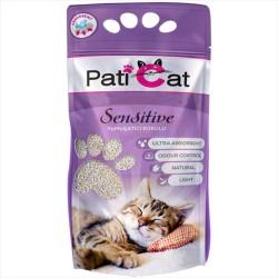 Pati Cat - Pati Cat Sensitive Yumuşatıcı Kokulu Kalın Taneli Kedi Kumu 10 LT