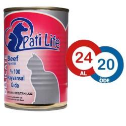 Pati Life - Pati Life Biftekli Kedi Konservesi 415 GR * 24 ADET