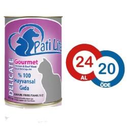 Pati Life - Pati Life Gourmet Kedi Konservesi 415 GR * 24 ADET
