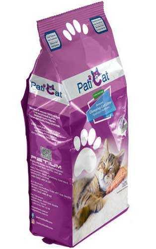 PatiCat Lavanta Kokulu Doğal Kalın Kedi Kumu 10 LT