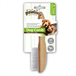Pawise - Pawise 31 Pinli Tahta Saplı Köpek Fırçası