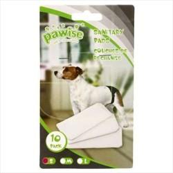 Pawise - Pawise Köpek Külot Pedi 10 Lu Paket