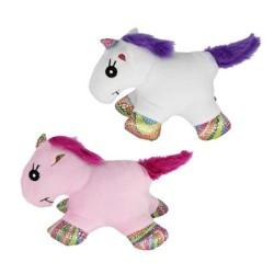 Pawise - Pawise Peluş Unicorn Köpek Oyuncağı S Boy