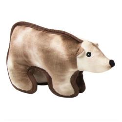 Pawise - Pawise Tuffy Toy Polar Ayı Sert Köpek Oyuncağı