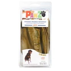 Pawz - Pawz Camo Köpek Galoşu Large 12 Adet