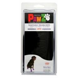 Pawz - Pawz Siyah Köpek Galoşu Large 12 Adet