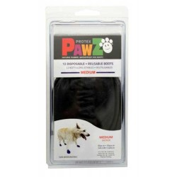 Pawz - Pawz Siyah Köpek Galoşu Medium 12 Adet