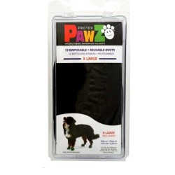 Pawz - Pawz Siyah Köpek Galoşu XLarge 12 Adet