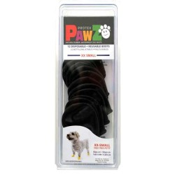 Pawz - Pawz Siyah Köpek Galoşu XXSmall 12 Adet
