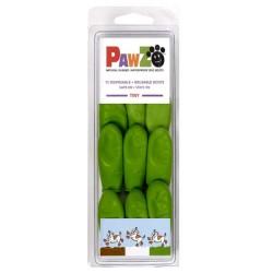 Pawz - Pawz Yeşil Köpek Galoşu Tinny 12 Adet