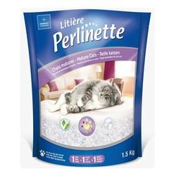 Perlinette - Perlinette Detect Erken Teşhis Formüllü Kristal Kedi Kumu 1,5 KG