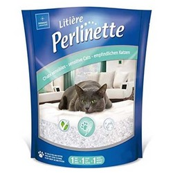 Perlinette - Perlinette Yetişkin ve Hassas Kediler İçin Kristal Kum 15 KG
