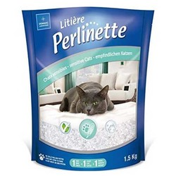 Perlinette - Perlinette Yetişkin ve Hassas Kediler İçin Kristal Kum 1,5kg