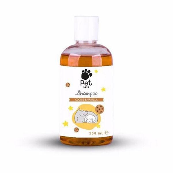 Pet Love Vanilya Kurabiye Kokulu Kedi Köpek Şampuanı 250ml