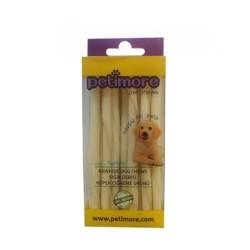 Petimor - Petimore Sütlü Burgu Çubuk Ödül Ve Çiğneti Kemiği 12 Cm 12 Li