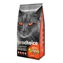 Pro Choice - Pro Choice Balık ve Karidesli Kısırlaştırılmış Kedi Maması 15 KG