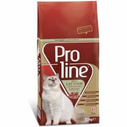 Pro Line - Pro Line Kuzu Etli Kedi Maması 1.5 KG