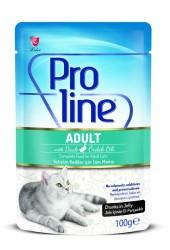 Pro Line - Pro Line Ördek Etli Yaş Kedi Maması 100 Gr