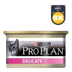 ProPlan - Pro Plan Delicate Kedi Konservesi 85 GR x 6 Adet