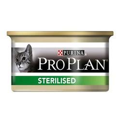 ProPlan - Pro Plan Somonlu ve Tuna Balıklı Kısırlaştırılmış Kedi Konservesi 85 GR