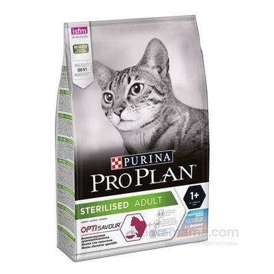 Pro Plan Sterilised Okyanus ve Morina Balıklı Kısırlaştırılmış Kedi Maması 3 KG