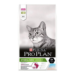 Pro Plan Sterilised Okyanus ve Morina Balıklı Kısırlaştırılmış Kedi Maması 3 KG - Thumbnail
