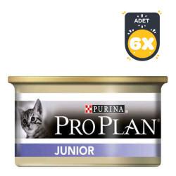 ProPlan - Pro Plan Tavuklu Yavru Kedi Konservesi 85 GR x 6 Adet