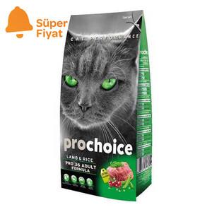 Pro Choice Kuzu Etli Kedi Maması 15 KG - Thumbnail