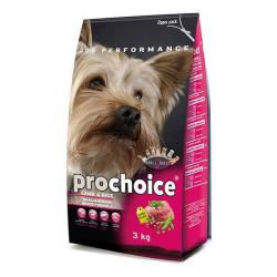 Pro Choice - Pro Choice Kuzu Etli Küçük Irk Köpek Maması 3 KG