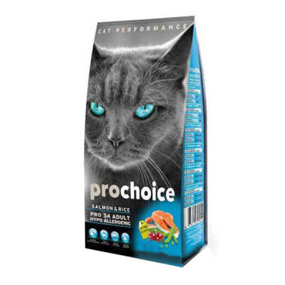 Pro Choice Somonlu Kedi Maması 15 KG