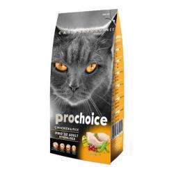 Pro Choice - Pro Choice Tavuklu Kısırlaştırılmış Kedi Maması 2 KG