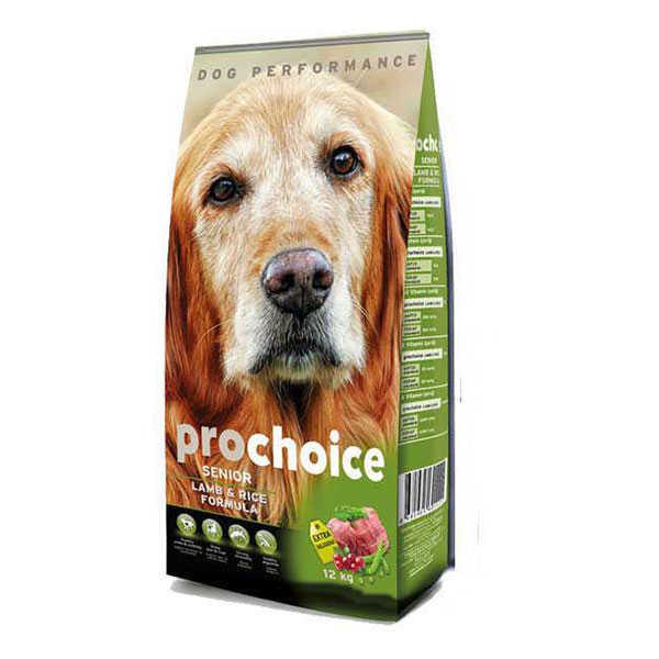 Pro Choice Yaşlı Kuzulu Köpek Maması 12 KG