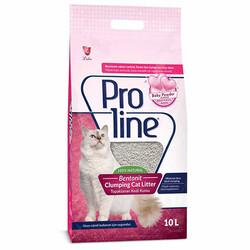 Pro Line - Proline Baby Powder Parfüm Kokulu Kedi Kumu 10 LT