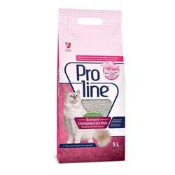 Pro Line - ProLine Bentotit Topaklaşan Baby Powder Kokulu Kedi Kumu 5 LT