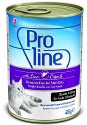 Pro Line - Proline Ciğerli Kedi Konservesi 415 GR