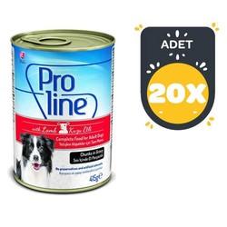 Pro Line - Proline Kuzulu Köpek Konservesi 415 GR x 20 Adet