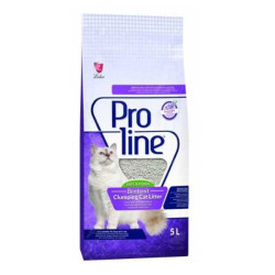 Pro Line - Proline Lavanta Kokulu İnce Taneli Kedi Kumu 5 LT