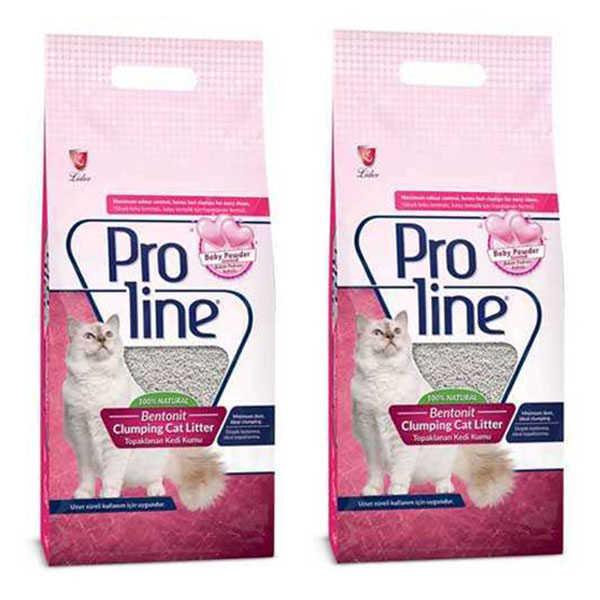 Proline Parfüm Kokulu Kedi Kumu 10 LT * 2 Adet