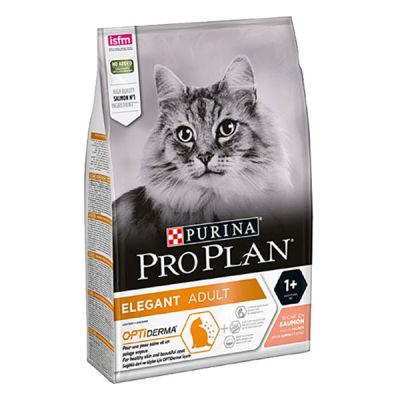 Pro Plan Elegant Derma Plus Hairball Kedi Maması 10 KG
