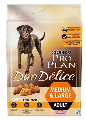 Pro Plan Duo Delice Somon Balıklı Yetişkin Köpek Maması 10 KG