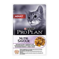 ProPlan - Proplan Nutri Savour Hindili Yaş Kedi Maması 85 GR
