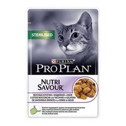ProPlan - ProPlan Nutri Savour Kısır Kedi Hindili Yaş Mama 85Gr